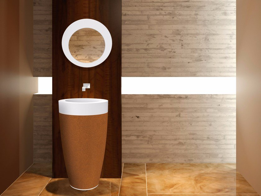 Freestanding washbasin NATUR+UP by AMA Design