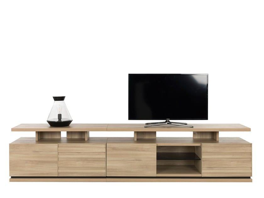 Modular TV cabinet NATURA LAYOUT 3 by GAUTIER FRANCE