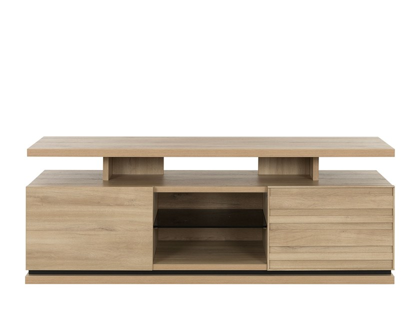 Low TV cabinet NATURA | Low TV cabinet by GAUTIER FRANCE