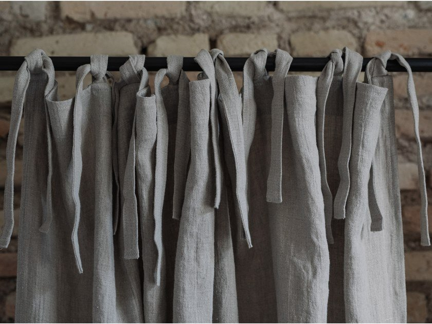 Linen curtain NATURAL | Curtain by Linen Tales