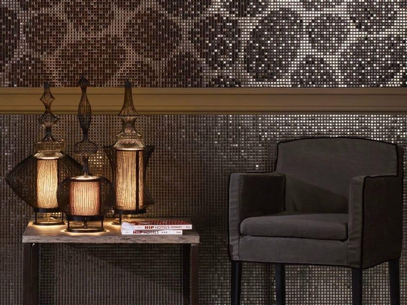 Porcelain stoneware mosaic NATURAL GLAMOUR | Porcelain stoneware mosaic by JASBA MOSAIK