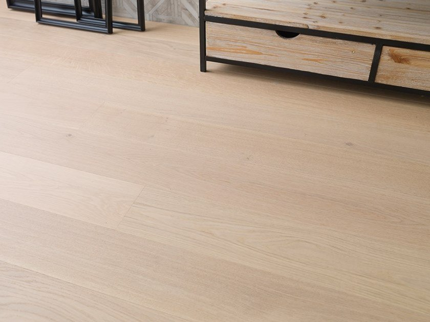 Brushed English oak parquet NATURE By L'ANTIC COLONIAL