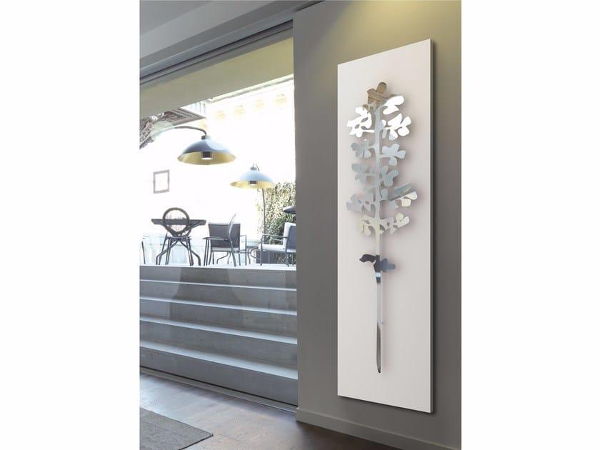 Wall-mounted towel warmer NATURE SALICE by K8 Radiatori