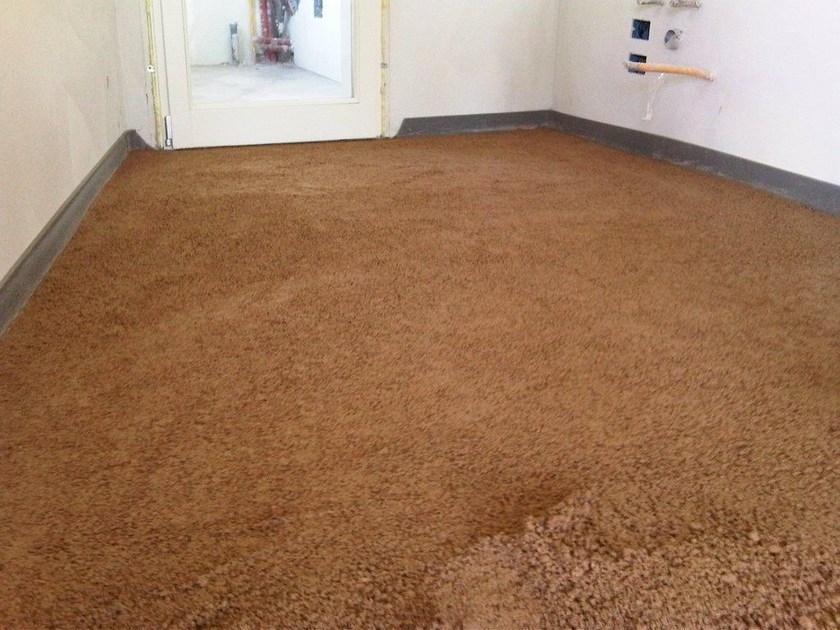 Screed and base layer for flooring NATURPAV by Terragena