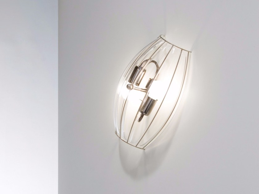 Murano glass wall light NAUTILUS RC 228 by Siru