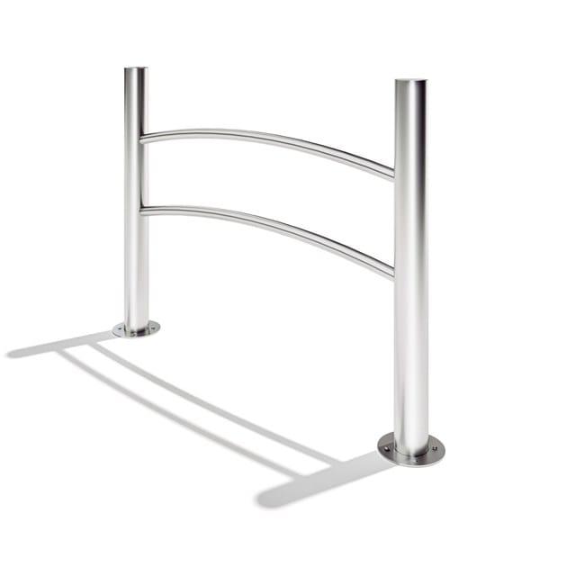 Stainless steel pedestrian barrier NAVY by LAB23