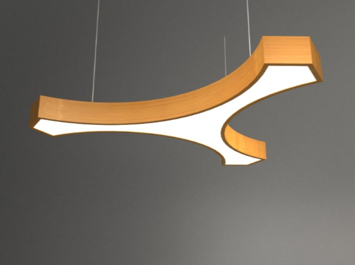 Pendant lamp NAY LINK3 D1000C by Neonny