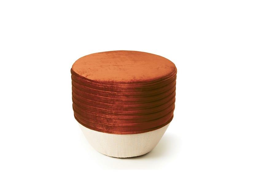 Pouf rotondo in tessuto NAZARÉ by Mambo Unlimited Ideas