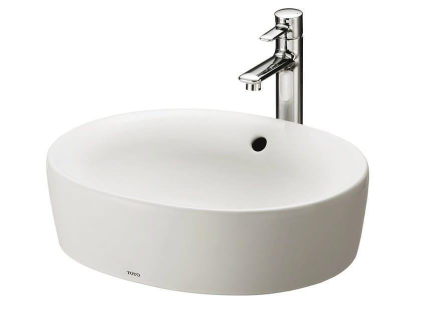 Countertop round washbasin NC | Round washbasin by TOTO