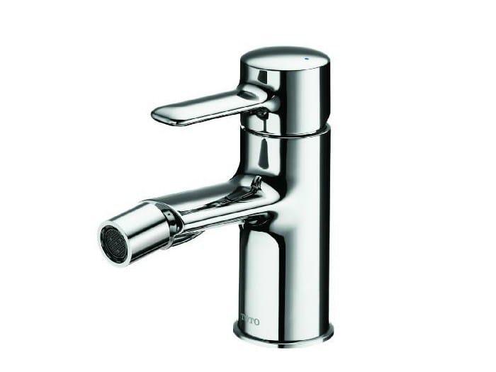 Single handle chromed brass bidet mixer NC | Single handle bidet mixer by TOTO