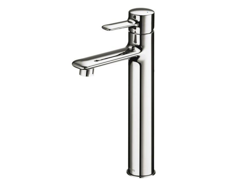 Single handle chromed brass washbasin mixer NC | Chromed brass washbasin mixer by TOTO