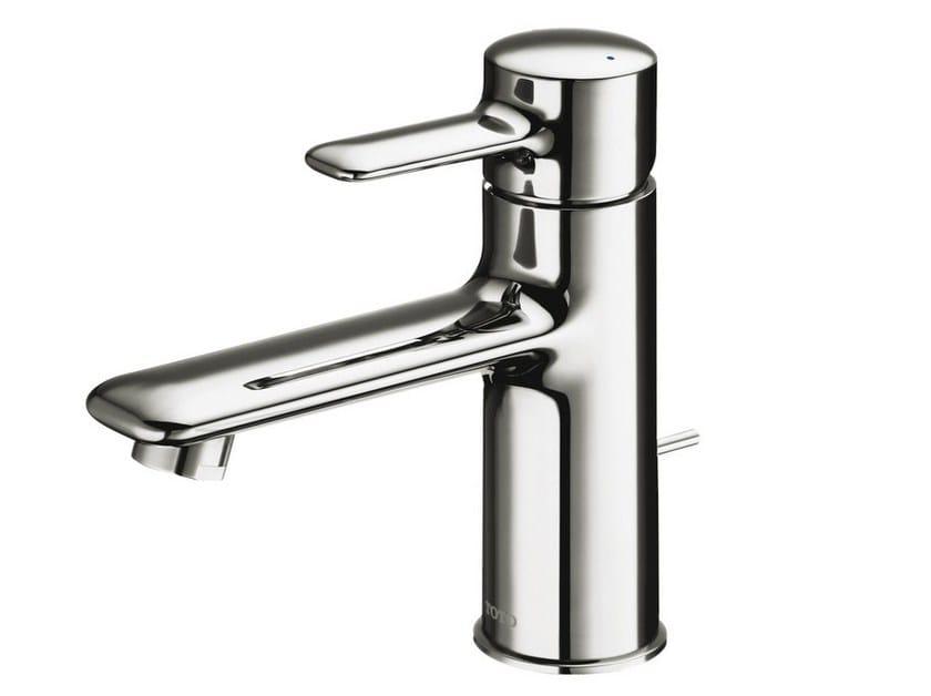 Single handle chromed brass washbasin mixer NC   Single handle washbasin mixer by TOTO