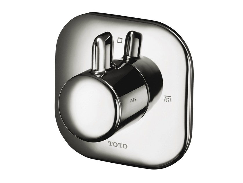 On-off valve, concealed NC | Shower tap with plate by TOTO