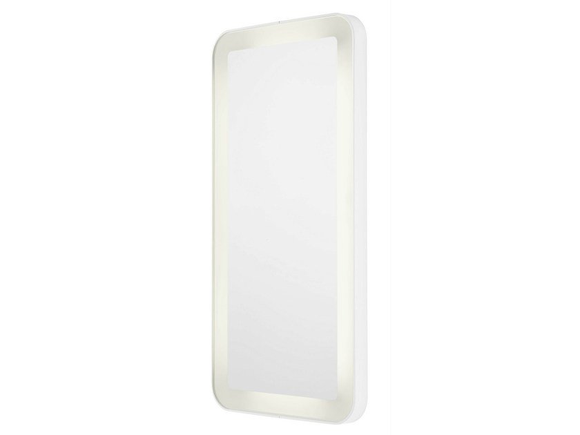Wall-mounted bathroom mirror with integrated lighting NC | Mirror with integrated lighting by TOTO
