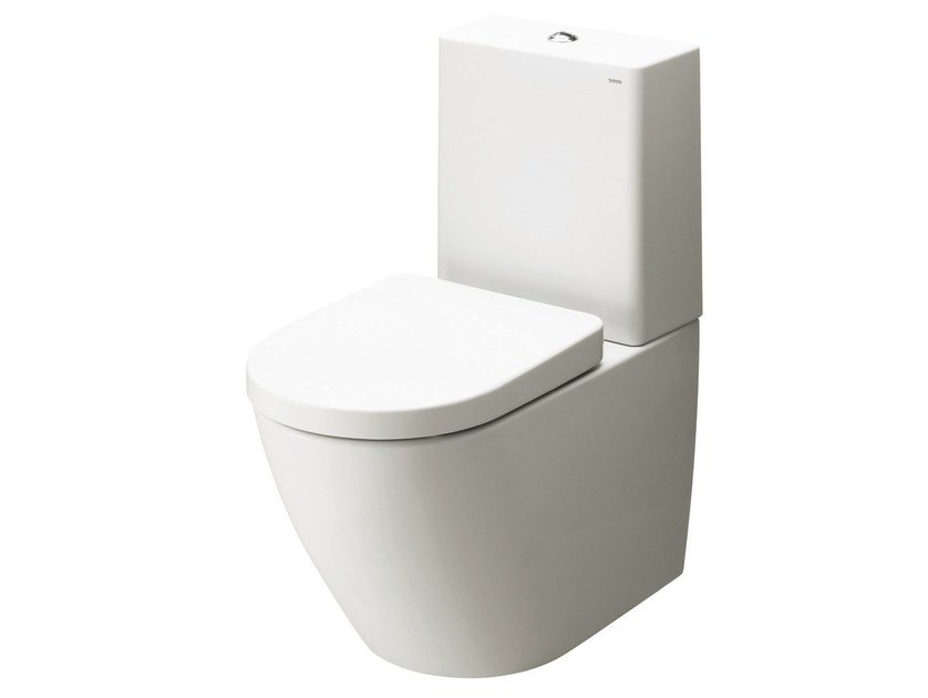 Ceramic cover, square, with plastic cistern NC by TOTO