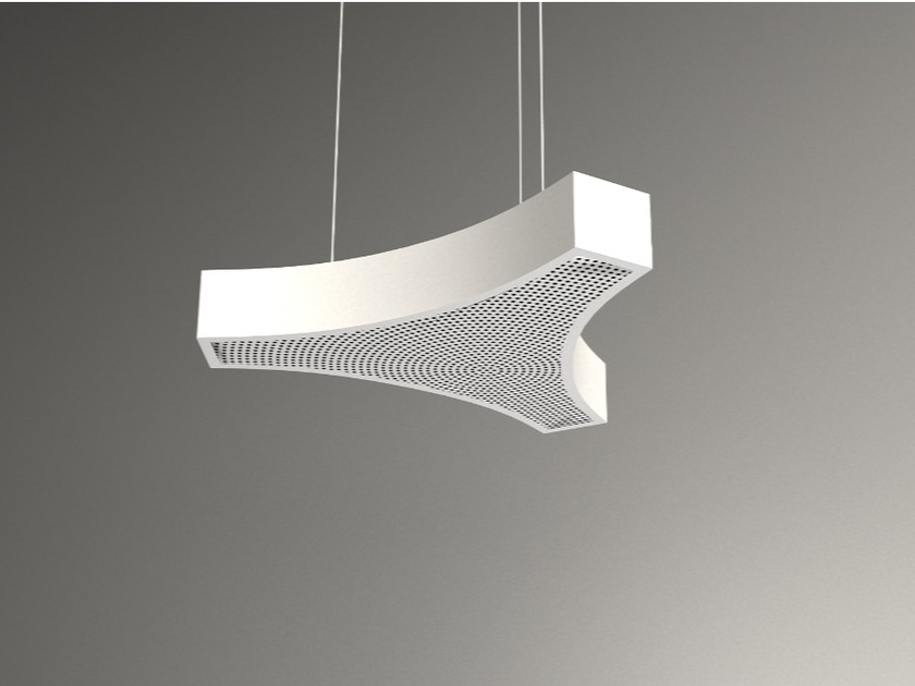 Hanging acoustical panel / pendant lamp NCA LINK3 D1000-1500-2000A   Pendant lamp by Neonny