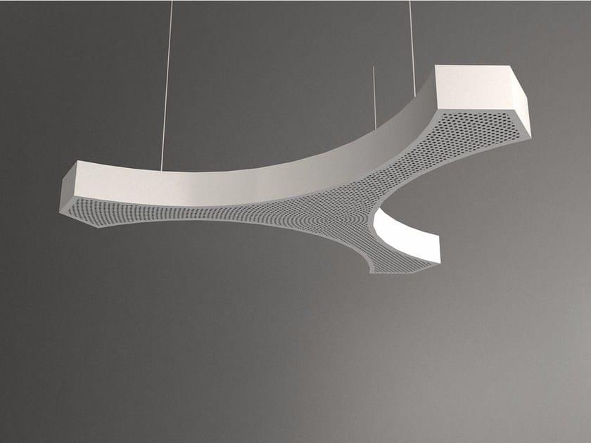 Hanging acoustical panel / pendant lamp NCA LINK3 D1000-1500-2000C | Pendant lamp by Neonny