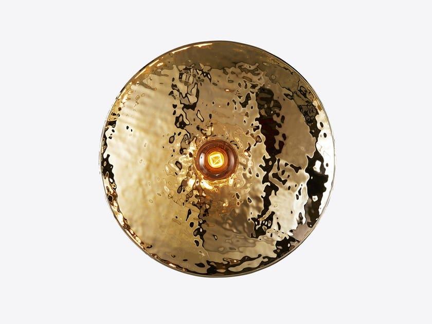 Lampada da parete a luce diretta in metallo NEBBIA by RADAR INTERIOR