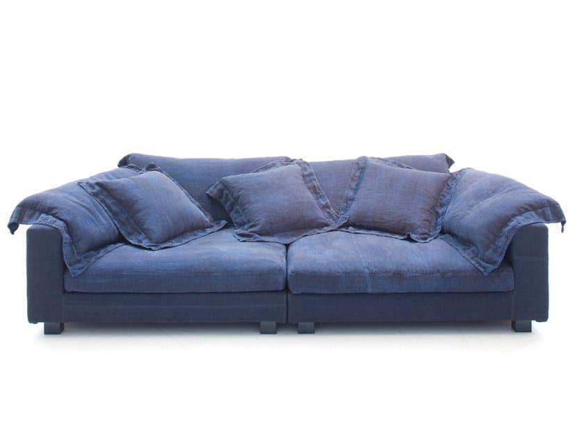 Sectional modular sofa NEBULA NINE by Moroso