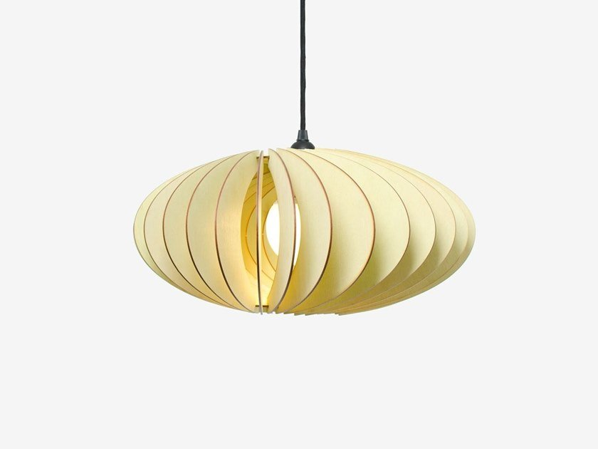 Pendant lamp IUMI - NEFI Green by Archiproducts.com