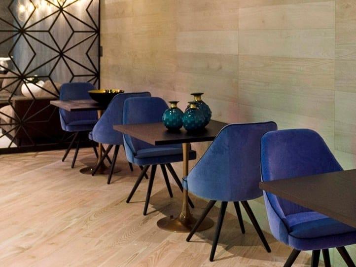 Upholstered velvet chair NEIL | Velvet chair by Borzalino