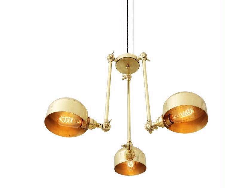 Swivel chandelier NEIVA by Mullan Lighting