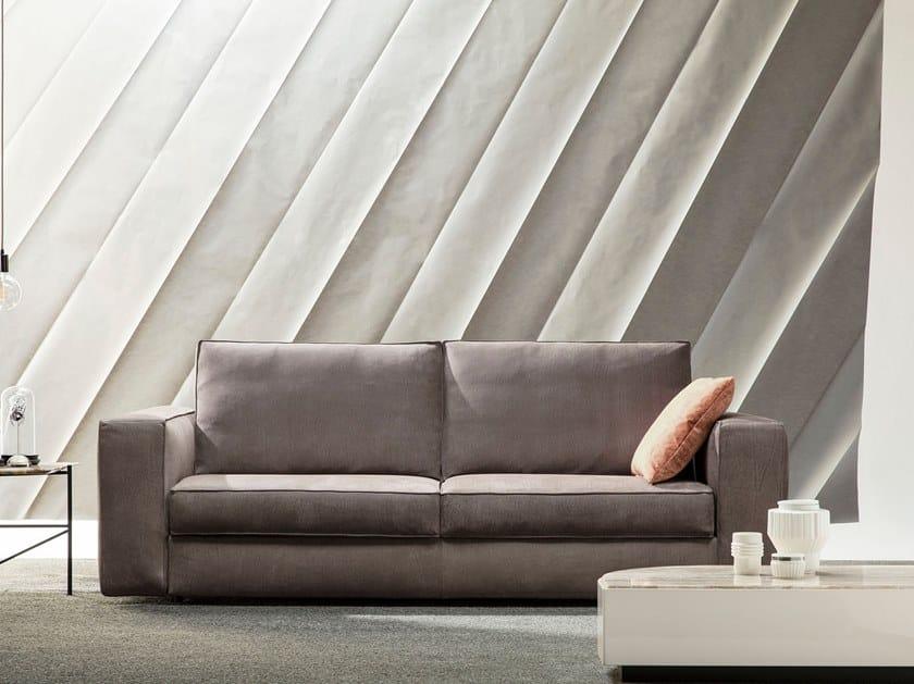 Divano letto in pelle a 3 posti NEMO By BertO design ...