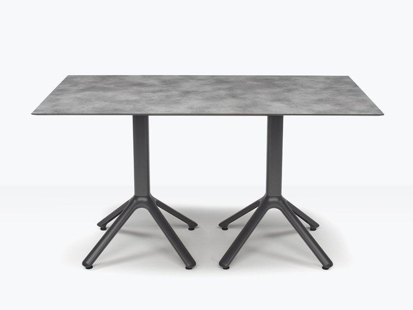 Rectangular aluminium table for multiple alignment DOUBLE NEMO by SCAB DESIGN