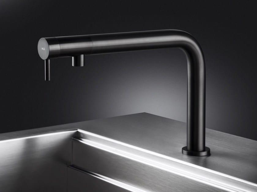 Miscelatore da cucina da piano in acciaio inox NEMO R/RS - MGS