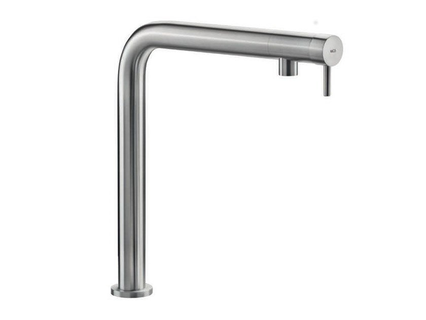 Countertop stainless steel kitchen mixer tap NEMO RH/RHS by MGS