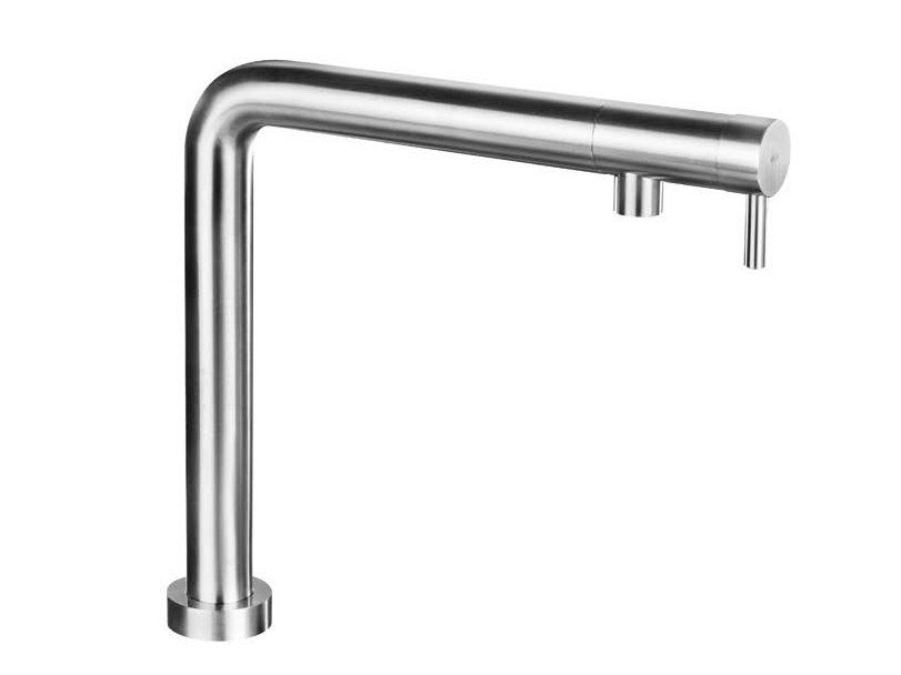 Hidden stainless steel kitchen mixer tap NEMO RHA/RHAS by MGS