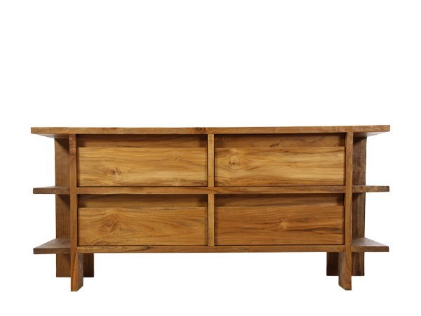 Solid wood chest of drawers NEO PRIMITIVE | Chest of drawers by WARISAN