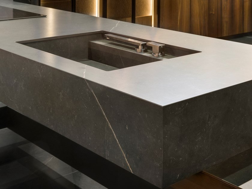 Neolith® furniture foil with stone effect NEOLITH CALATORAO by NEOLITH