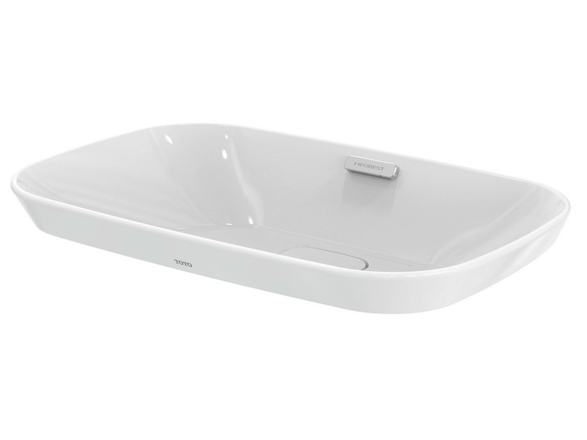 Inset rectangular washbasin NEOREST | Ceramic washbasin by TOTO