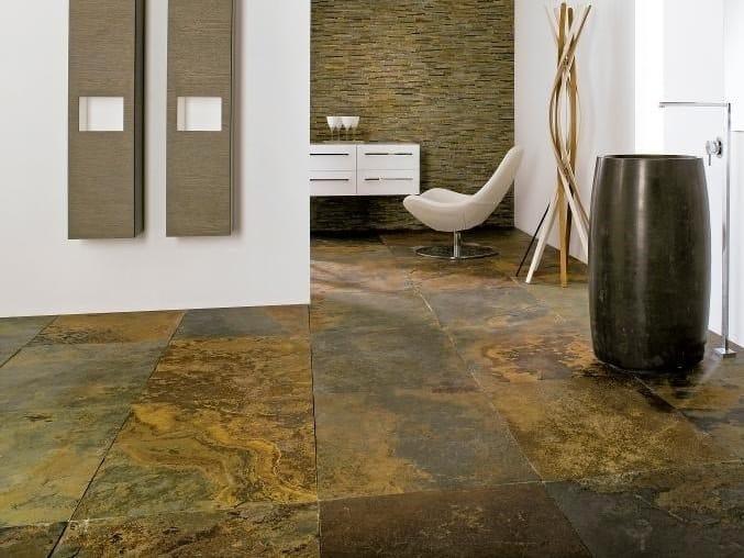 Slate wall/floor tiles NEPAL by L'ANTIC COLONIAL