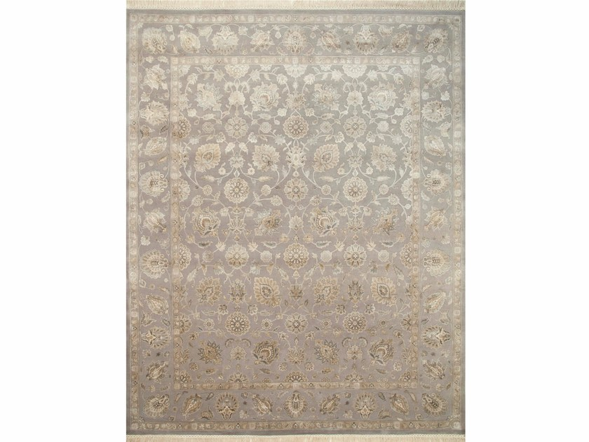 Tappeto fatto a mano NEPHI QNQ-03(C-05) Soft Gray/Soft Gray by Jaipur Rugs