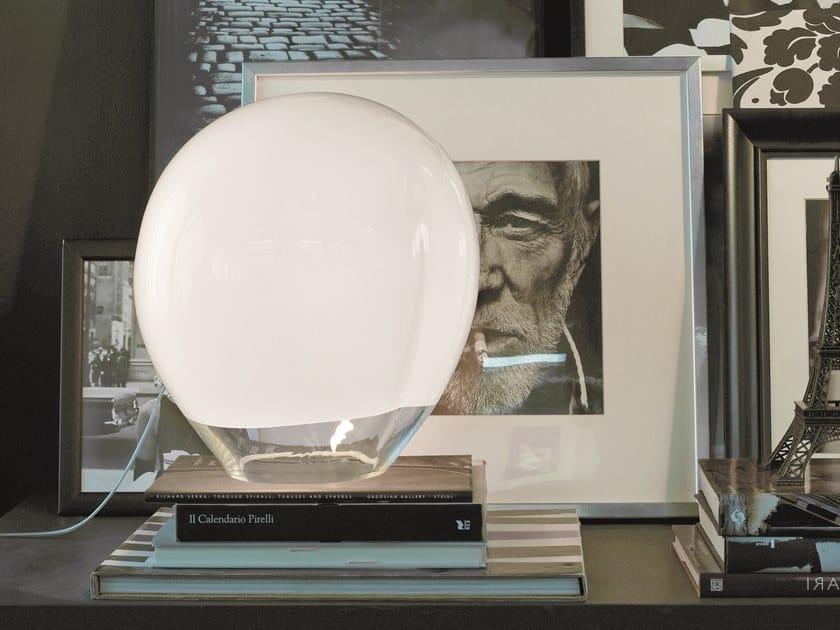 Glass table lamp NESSA LT by Vetreria Vistosi