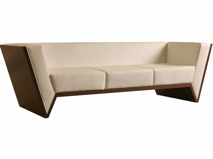 3 seater leather sofa NESSUNDORMA | Sofa by Morelato