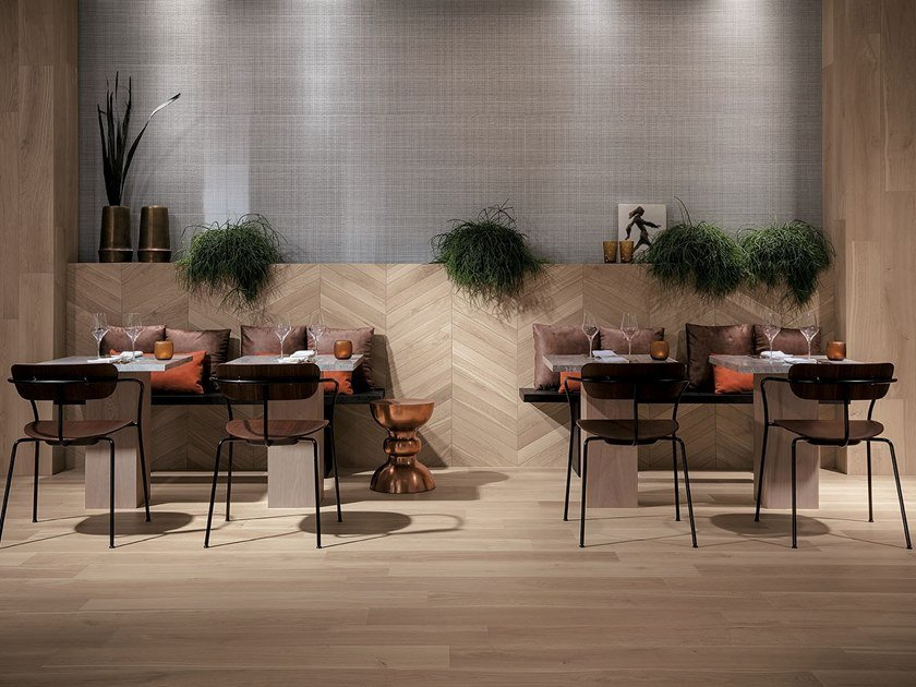 Pavimento/rivestimento effetto legno per interni ed esterni FAPNEST by FAP ceramiche