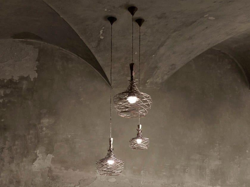 Iron pendant lamp NEST MIDI by ELITE TO BE