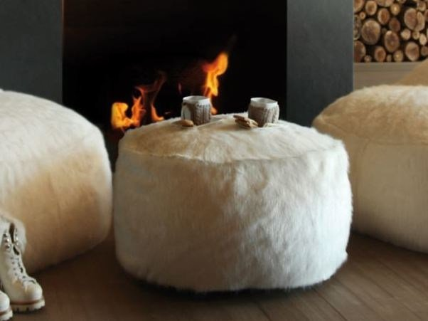 Upholstered pouf NEST | Pouf by GART