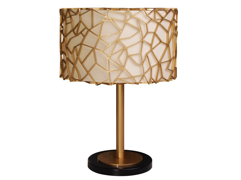 Silk table lamp NEST | Table lamp by Creativemary