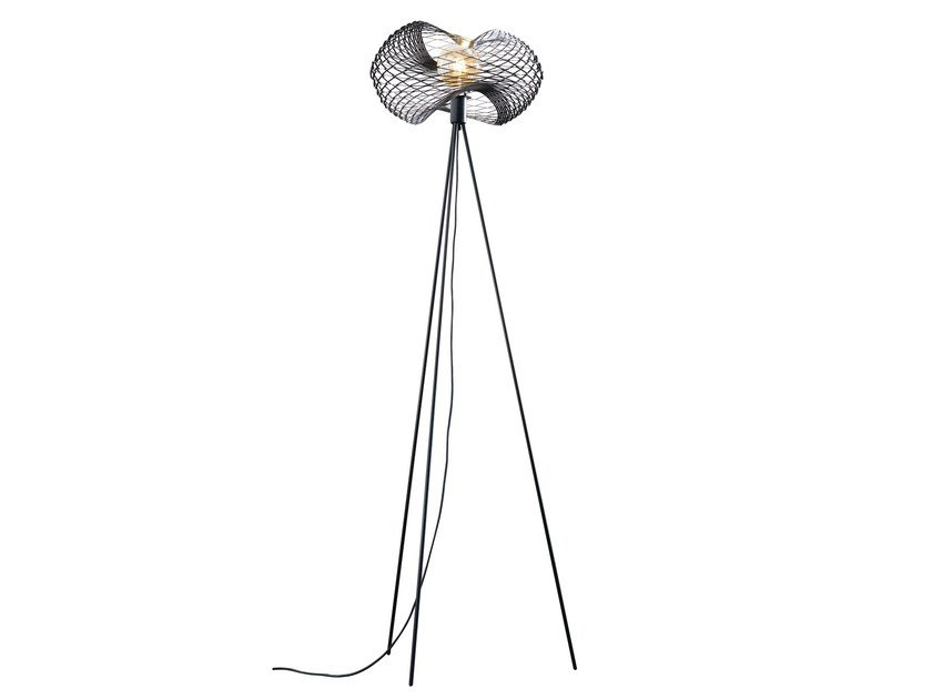 Direct light iron floor lamp NET | Floor lamp by ZAVA