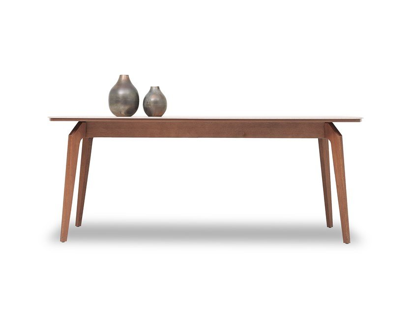 Rectangular wooden table NETHA | Table by Enza Home