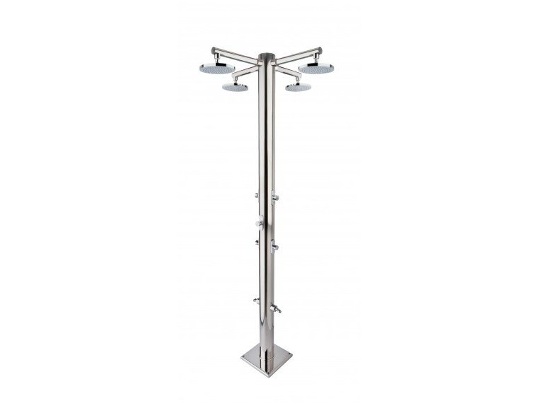Stainless steel outdoor shower / Swimming pool shower NETTUNO by Ama Luxury Shower