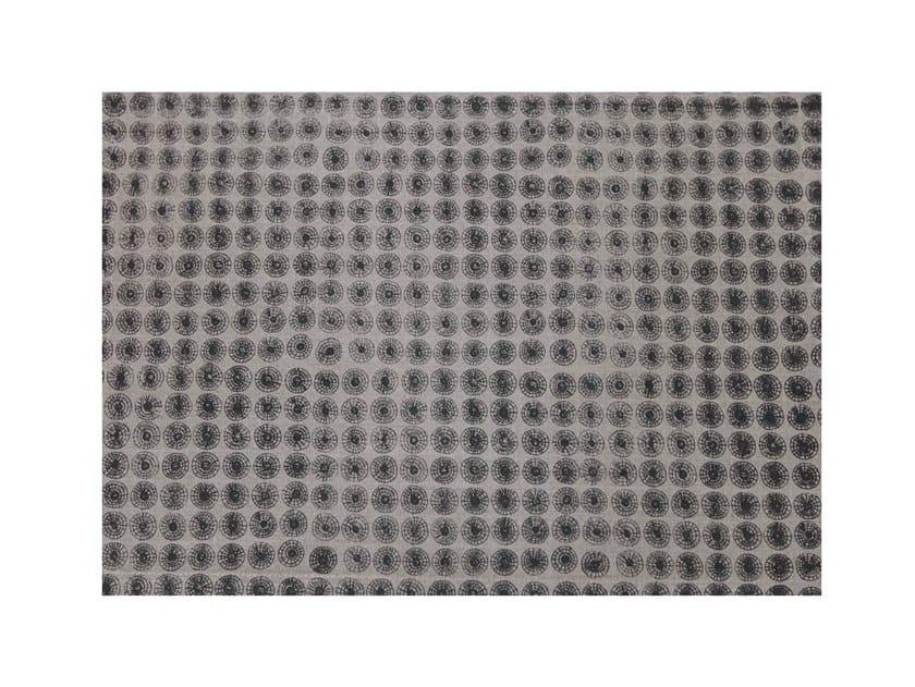 Rectangular linen placemat NETZE | Placemat by Birgit Morgenstern Studios