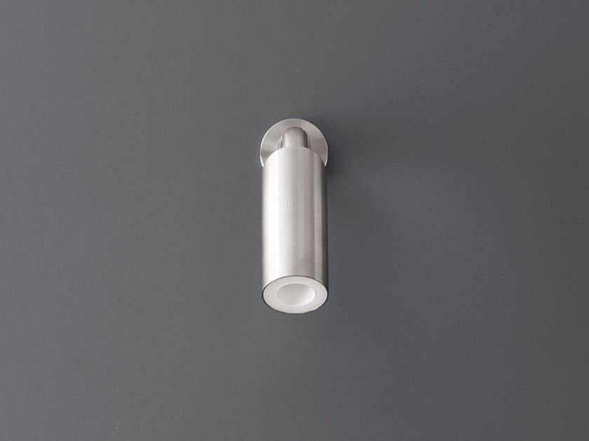Wall-mounted adjustable overhead shower NEU 26 by Ceadesign