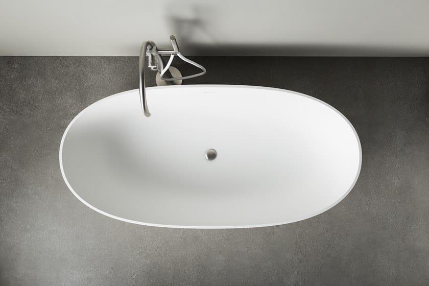 Vasca Da Bagno Con Muretto : Vasca da bagno ovale in korakril™ neutra rexa design