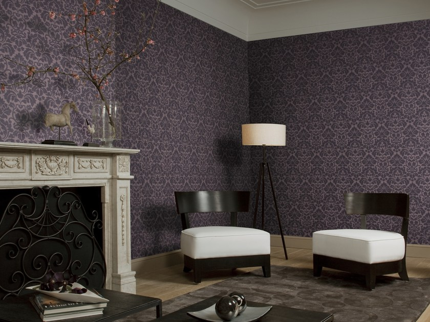 Damask fabric wallpaper NEVA DAMASK by Omexco