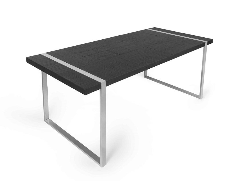 Rectangular dining table NEVADA by ARKOF LABODESIGN